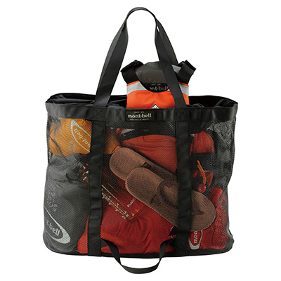 Expedition Tote Bag Mesh Tote Bag m | Montbell
