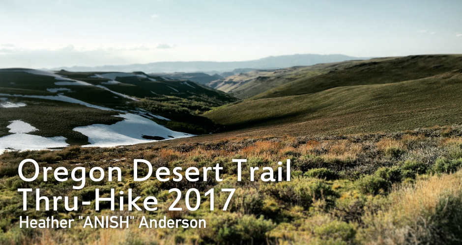 Special Contents: Oregon Desert Trail Thru-Hike 2017 | Montbell America