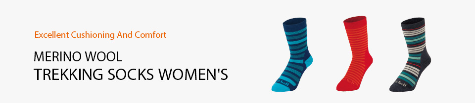 Merino Wool Trekking Socks Women's