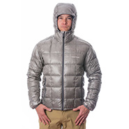 Montbell down parka women's