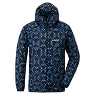 Wind Blast Print Parka Men's