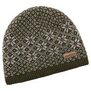 Wool Watch Cap Snow