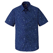 Wickron Light Print Short Sleeve Shirt Men's