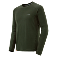 Merino Wool Plus Action Long Sleeve T Men's