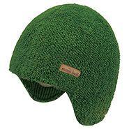 Pile Knit Ear Warmer Cap