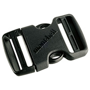 Side Release Buckle 38mm Double Pull