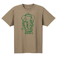 Pear Skin Cotton T Borneo Elephant