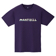 Pear Skin Cotton T mont-bell Logo Iwa