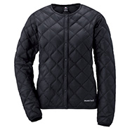 Superior Down Round Neck Jacket Women's