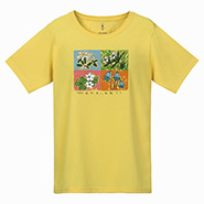 Wickron T Shirt Women's Mountain Flowers